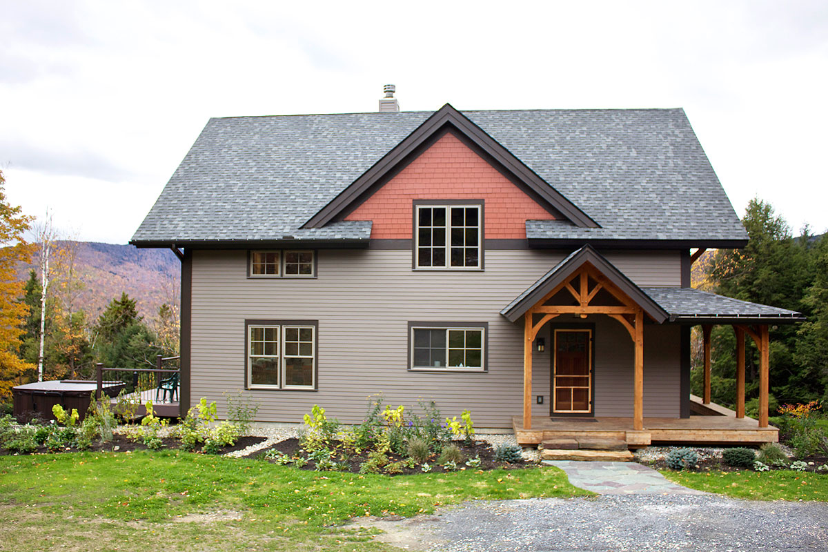Vermont custom home builder and general contractor neill for Vermont home builders